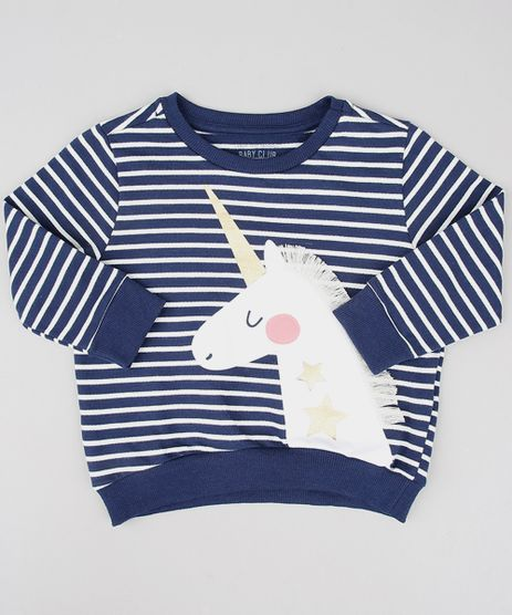 Blusao-Infantil-em-Moletom-Listrado-Unicornio-Azul-Marinho-9538131-Azul_Marinho_1
