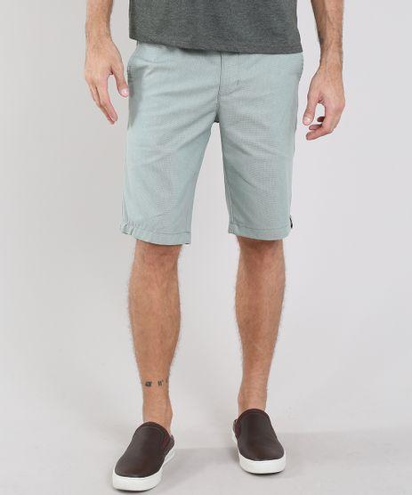 Bermuda-Masculina-Texturizada-com-Bolsos-e-Cinto-Listrado-Verde-Claro-9555164-Verde_Claro_1