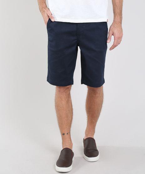 Bermuda-Masculina-Slim-Texturizada-com-Bolsos-Azul-Marinho-9541118-Azul_Marinho_1