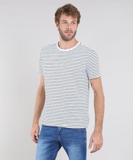 Camiseta-Masculina-Basica-Listrada-Manga-Curta-Gola-Careca-Branca-9615767-Branco_1