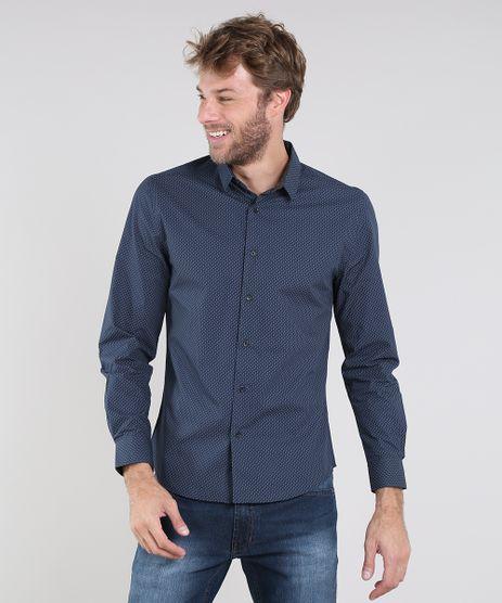 Camisa-Masculina-slim-Estampada-Geometrica-Manga-Longa-Azul-Marinho-9429415-Azul_Marinho_1
