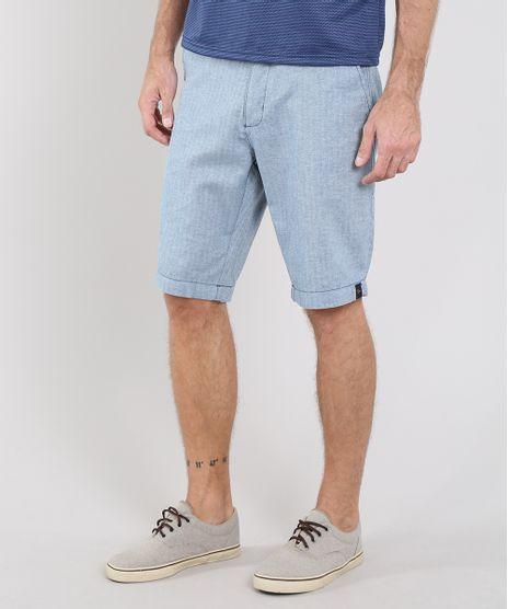 Bermuda-Masculina-Slim-com-Bolsos-e-Cinto-Azul-9555163-Azul_1