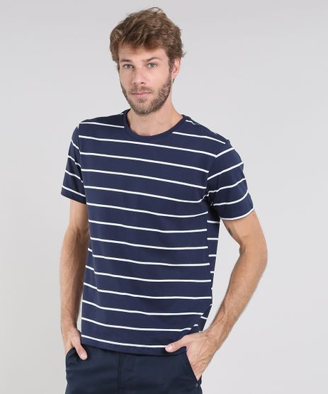 Camiseta-Masculina-Basica-Listrada-Manga-Curta-Gola-Careca-Azul-Marinho-9556137-Azul_Marinho_1