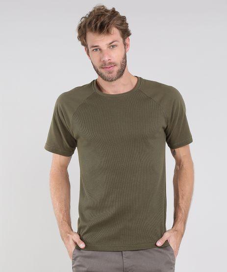 Camiseta-Masculina-Maquinetada-Manga-Curta-Raglan-Gola-Careca-Verde-Militar-9564339-Verde_Militar_1