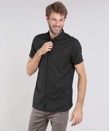 Camisa-Masculina-Relaxed-Estampada-Geometrica-Manga-Curta-Preta-9429422-Preto_1