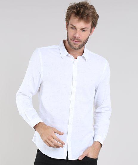 Camisa-Masculina-Slim-Botone-Manga-Longa-Off-White-9468105-Off_White_1