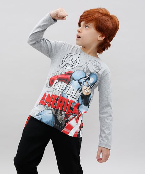 Camiseta-Infantil-Capitao-America-Manga-Longa-Cinza-Mescla-9464182-Cinza_Mescla_1