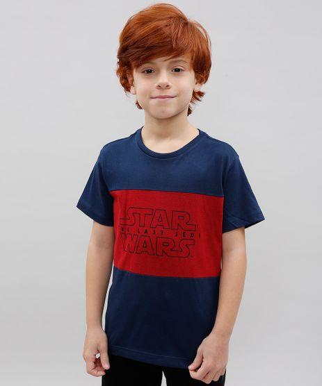 Camiseta-Infantil-Star-Wars-Recorte-Manga-Curta-Gola-Careca--Azul-Marinho-9505813-Azul_Marinho_1