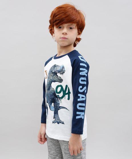Camiseta-Infantil-Raglan-Dinossauro-Manga-Longa-Branca-9534639-Branco_1