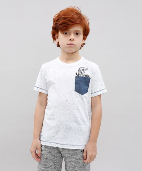 Camiseta-Infantil-Dinossauro-com-Bolso-Manga-Curta-Off-White-9534771-Off_White_1