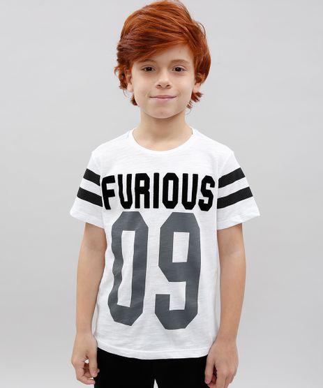 Camiseta-Infantil--Furious--Manga-Curta-Off-White-9534345-Off_White_1