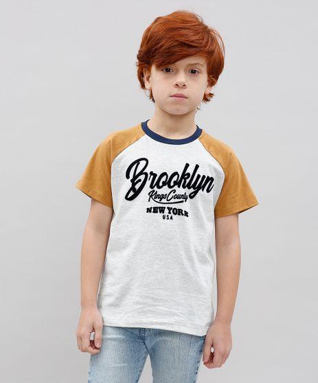 Camiseta-Infantil-Raglan--Brooklyn--Manga-Curta-Cinza-Mescla-Claro-9534680-Cinza_Mescla_Claro_1