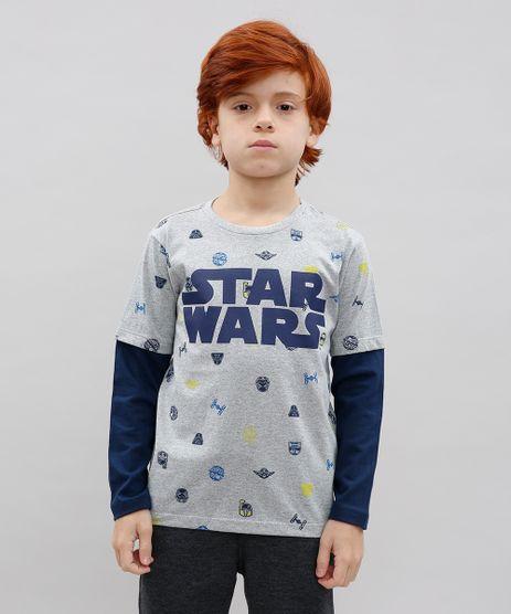 Camiseta-Infantil-Star-Wars-Estampada-Manga-Longa-Cinza-Mescla-9614219-Cinza_Mescla_1