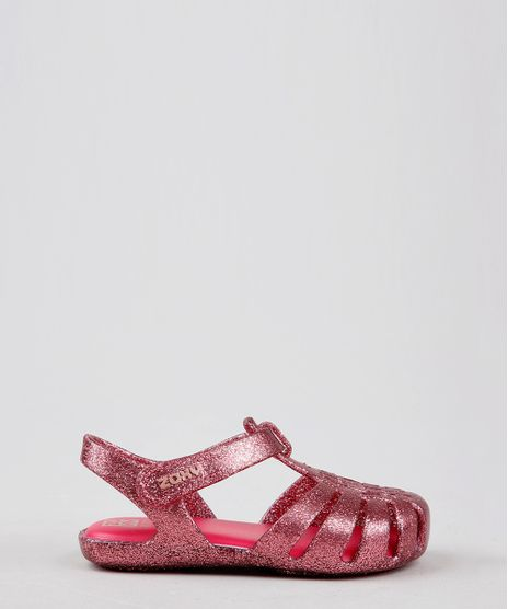 Sandalia-Infantil-Zaxy-Nina-com-Glitter-Rosa-Escuro-9605556-Rosa_Escuro_1