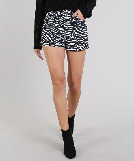 Short-de-Sarja-Feminino-Hot-Pants-Estampado-Animal-Print-Branco-9594610-Branco_1