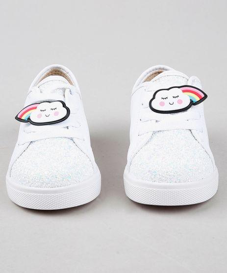 Tenis-Infantil-Molekinha-com-Arco-Iris-Removivel-e-Glitter-Branco-9584995-Branco_1