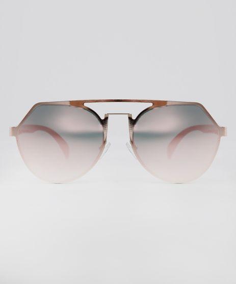 Oculos-de-Sol-Redondo-Feminino-Oneself-Rose-9631575-Rose_1