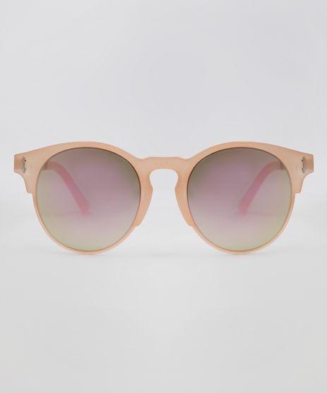 Oculos-de-Sol-Redondo-Feminino-Oneself-Rose-9636122-Rose_1
