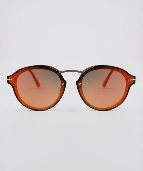 Oculos-de-Sol-Redondo-Feminino-Oneself-Dourado-9640285-Dourado_1