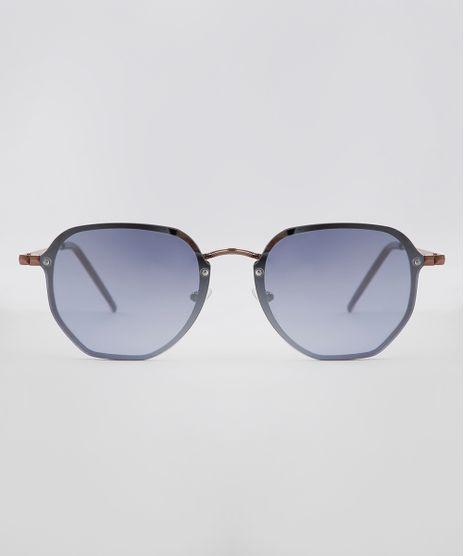Oculos-de-Sol-Quadrado-Unissex-Oneself-Rose-9636125-Rose_1