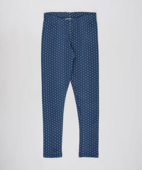 Calca-Legging-Infantil-Estampada-de-Poa-Azul-Marinho-9650148-Azul_Marinho_1