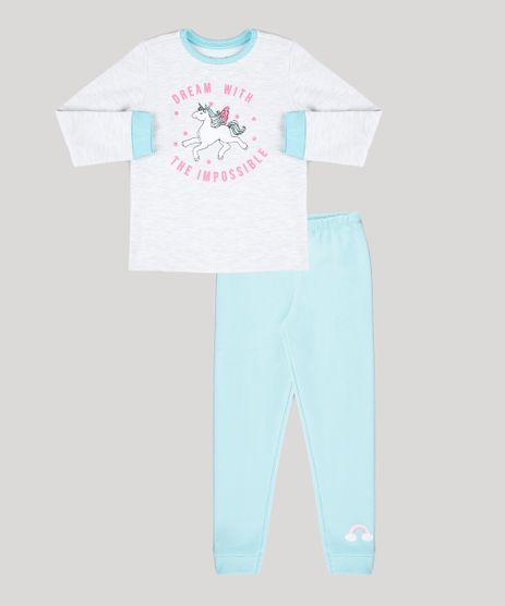 Pijama-Infantil-em-Moletom-Unicornio-com-Glitter-Manga-Longa-Cinza-Mescla-Claro-9528479-Cinza_Mescla_Claro_1