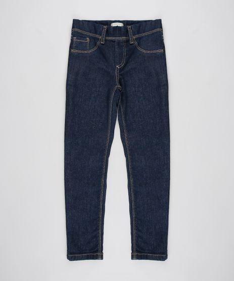 Calca-Jeans-Infantil-Jegging-com-Bolsos-Azul-Escuro-9615955-Azul_Escuro_1