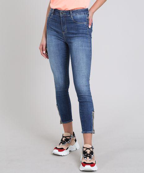 Calca-Jeans-Feminina-Sawary-Cropped-Super-Skinny-com-Ziper-Azul-Medio-9581063-Azul_Medio_1