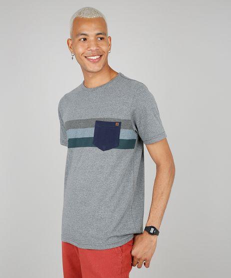 Camiseta-Masculina-Listrada-com-Bolso-Manga-Curta-Gola-Careca-Cinza-Mescla-Escuro-9533557-Cinza_Mescla_Escuro_1