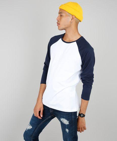 Camiseta-Masculina-Basica-Manga-Longa-Raglan-Gola-Careca-Branca-9556142-Branco_1