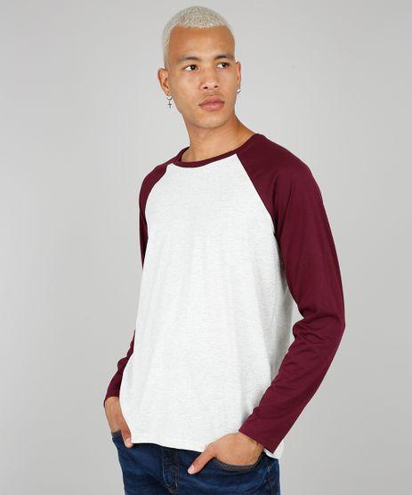 Camiseta-Masculina-Basica-Manga-Longa-Raglan-Gola-Careca-Cinza-Mescla-Claro-9556142-Cinza_Mescla_Claro_1