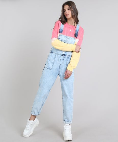 Macacao-Jeans-Feminino-com-Bolsos-Azul-Claro-9639710-Azul_Claro_1