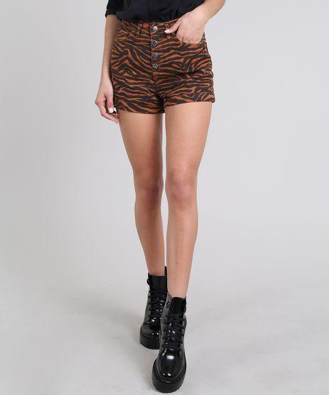 Short-de-Sarja-Feminino-Hot-Pant-Estampado-Animal-Print-Barra-Dobrada-Caramelo-9594609-Caramelo_1