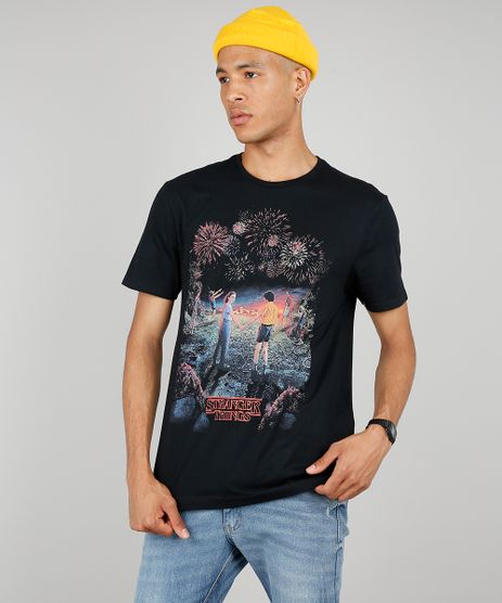 Camiseta-Masculina-Stranger-Things-Manga-Curta-Gola-Careca-Preta-9643459-Preto_1