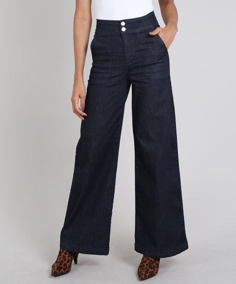 Calca-Jeans-Feminina-Pantalona-Azul-Escuro-9608409-Azul_Escuro_1