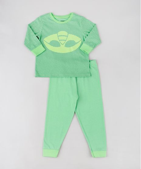 Pijama-Infantil-Lagartixo-PJ-Masks-Estampado-Manga-Longa-Verde-9567830-Verde_1