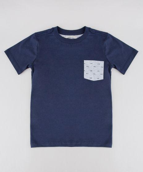 Camiseta-Infantil-com-Bolso-Estampado-Manga-Longa-Azul-Marinho-9605023-Azul_Marinho_1