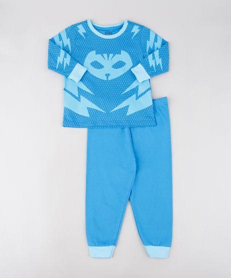 Pijama-Infantil-Menino-Gato-PJ-Masks-Estampado-Manga-Longa-Azul-9567829-Azul_1