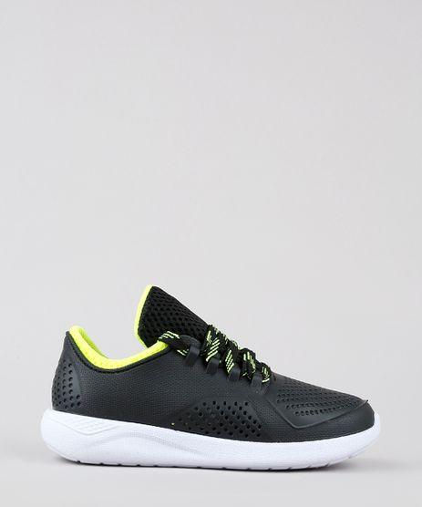 Tenis-Infantil-Running-com-Micro-Furos-Preto-9643296-Preto_1