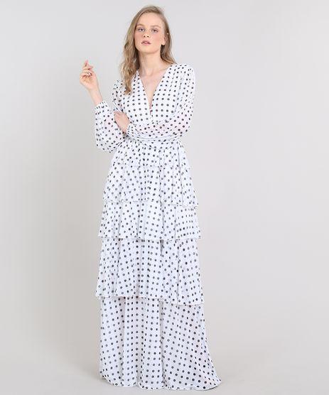 Vestido-Feminino-Longo-Mindset-Estampado-de-Poa-em-Camadas-Manga-Longa-Off-White-9655183-Off_White_1