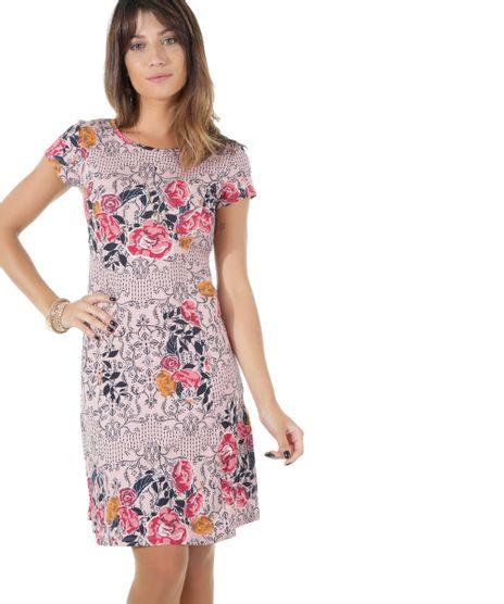 b90c5ba412 Vestido-Estampado-Floral-Rosa-Claro-8527844-Rosa Claro 1