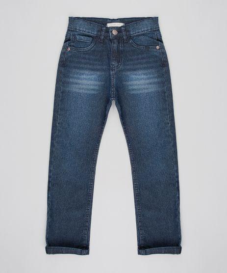 Calca-Jeans-Infantil-com-Bolsos-Azul-Escuro-Azul-Escuro-9528727-Azul_Escuro_1