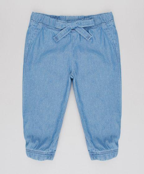 Calca-Jeans-Infantil-Jogger-com-Elastico-Azul-Medio-9588555-Azul_Medio_1
