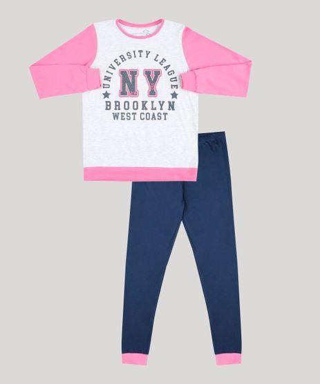 Pijama-Infantil--NY-Brooklyn--Manga-Longa-Cinza-Mescla-9528481-Cinza_Mescla_1