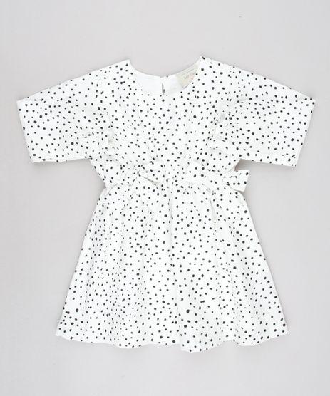 Vestido-Infantil-Estampado-de-Poa-com-Lacos-Manga-Longa-Off-White-9550587-Off_White_1