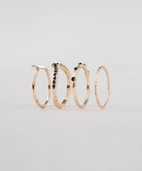 Kit-de-4-Aneis-Femininos-Dourado-9505832-Dourado_1