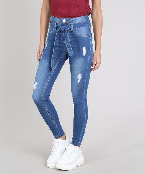Calca-Jeans-Feminina-Sawary-Skinny-Clochard-com-Puidos-Azul-Medio-9617984-Azul_Medio_1
