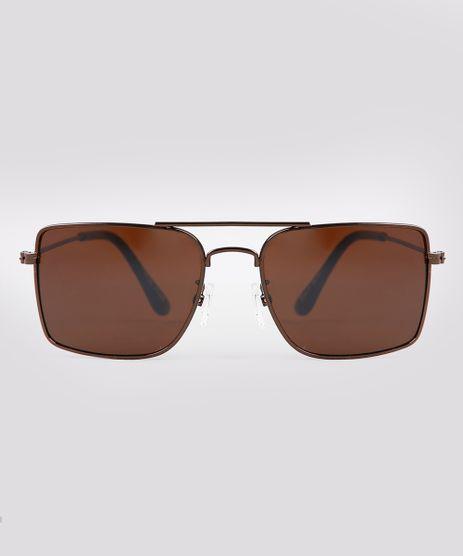 Oculos-de-Sol-Quadrado-Infantil-Oneself-Marrom-9674817-Marrom_1