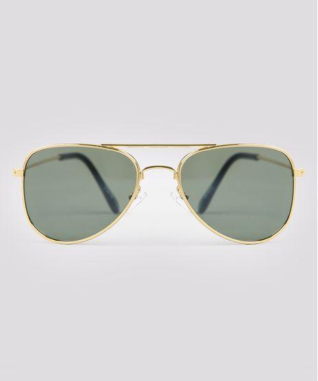 Oculos-de-Sol-Aviador-Infantil-Oneself-Dourado-9674814-Dourado_1