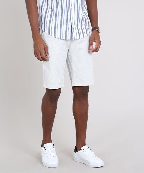 Bermuda-Masculina-Slim-Texturizada-com-Bolsos-e-Cinto--Off-White-9555161-Off_White_1